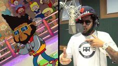 Emicida faz hoje batalha de rap no desenho 'Irmão do Jorel'