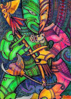 WARREN POHATU CREATIVE: TAITIMUROA Maori Symbols, Maori Patterns, Tiki Totem, Polynesian Art, Big Wall Art, Maori Designs, New Zealand Art, Vintage Tiki, Nz Art