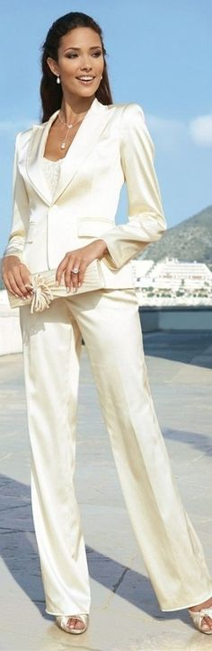 Trendy suit - lovely picture