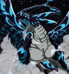 The dragon king Acnologia from Fairy Tail Fairy Tail Love, Fairy Tail Jerza, Fairy Tail Amour, Anime Fairy Tail, Fairytail, Zeref, Nalu, Prince Of Stride, Anime Manga