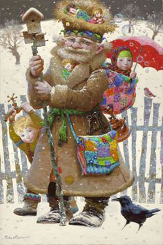 New Giclee arrivals by Victor Nizovtsev, painter of fables, fantasy, theatrical and imaginative art