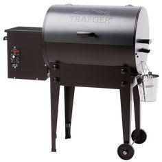 Traeger Tailgater BBQ Grill   From the truck to the game or the cabin without breakin' a sweat, the Tailgater packs a full-size punch in a portable package. It weighs only 62 pounds and comes with EZ-