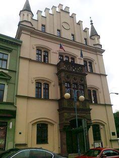 Budova okresního soudu v Děčíně - severní Čechy