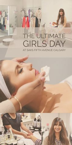 Fashionista and lifestyle guru Justine Celina Maguire walks you through the plush services you can enjoy at SAKS Fifth Avenue in Calgary Fresh Makeup, Special Occasion Outfits, Silk Floral Dress, Shopping Travel, Spa Services, Girl Day, Season Colors, Saks Fifth Avenue, Calgary