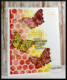 stencil, grunge stamp, oh my paper! at splitcoaststampers