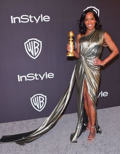 Golden Globe Award, Golden Globes, Taylor Swift, Andie Macdowell, Regina King, Bros, Red Carpet Dresses, Gold Dress