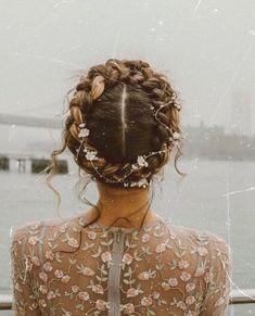 whimsical crown braid