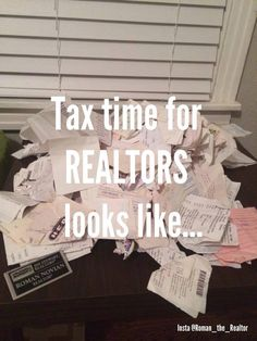 Tax time for realtors Online Real Estate, Real Estate Quotes, Real Estate Humor, Real Estate Tips, Real Estate Business, Real Estate Marketing, Advertising Methods, Jokes Quotes, Be Yourself Quotes