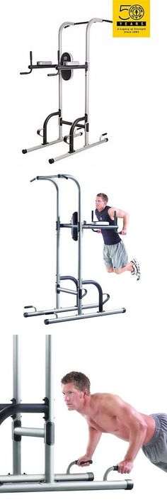 Home Gyms 158923: Home Gym Tower Golds Workout Power Exercise Equipment Fitness Pull Push Sit Up BUY IT NOW ONLY: $128.94