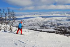 Hovden in Setesdal is one of the Norway's best ski resorts.   Photo: Elisabeth Høibo©Visit Soutnern Norway