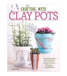 Peg Couch Crafting With Clay Pots Craft Book