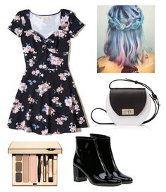 """""""Untitled #812"""" by vaniadenisse16 ❤ liked on Polyvore featuring Hollister Co., Yves Saint Laurent and Joanna Maxham"""
