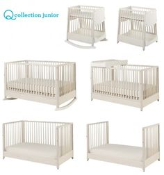 Overachiever Crib from Q Collection Jr. - 7 Options!