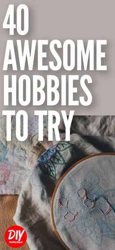 Here's a list of hobbies to try if you're looking for a fun and interesting way to fill your time. A good hobby is one that you enjoy, so check out these hobby ideas and see what's right for you. Hobbies To Pick Up, Hobbies For Couples, Hobbies For Women, Hobbies That Make Money, Rc Hobbies, Hobbies And Interests, Great Hobbies, I Need A Hobby, Finding A Hobby