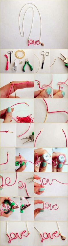 Another beautiful but easy to make DIY project – dainty bracelets. What you need    Needle Nose Pl...