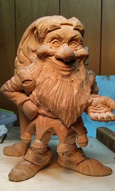 Sneak Peek of Part II in Carve a Christmas Elf with Justin Gordon @woodcraftsupply #woodcarving