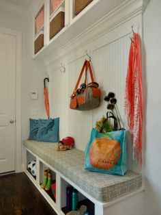 Spaces Entry Way Bench Design, Pictures, Remodel, Decor and Ideas - page 3