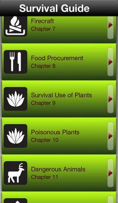 Survival Guide App