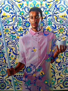 KEHINDE WILEY   ART IS A MEANS OF TRAVELLING