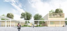 Office OU Designs New National Museum Complex Master Plan in South Korea,Courtesy of  Office OU