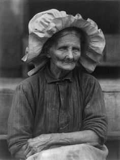 Old woman in sunbonnet by Doris Ulmann - Bonnet (headgear) - Wikipedia, the free encyclopedia