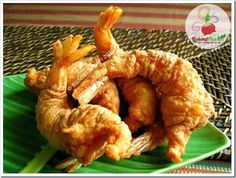 Filipino Dishes, Filipino Recipes, Filipino Food, Camaron Rebosado, Seaside Seafood, Prawn Shrimp, Restaurant Dishes, Pinoy Food, Cooking Recipes