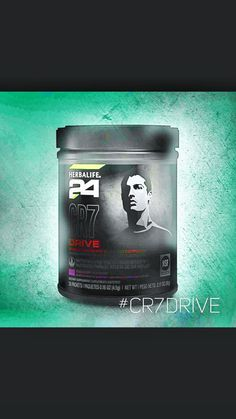 The new #CR7Drive. #herbalife