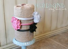 Cute D.I.Y headband holder!