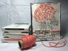 Stampin' Up! Thoughtful Branches by areli - Cards and Paper Crafts at Splitcoaststampers