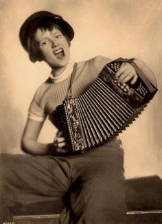 Dolly Haas... Mama had a squeeze box!!!