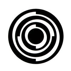Yusaku Kamekura Logo 5 Design for the Japanese Society for the Promotion of Science, from Gebrauchsgraphik No. 6, 1966.