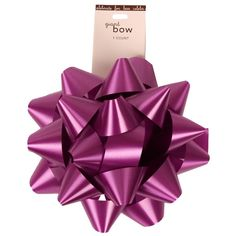 JAM Paper® Gift Bows - Large (7' Diameter) - Violet Purple - sold individually ** You can find more details by visiting the image link.