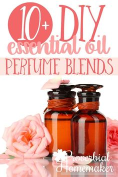 These essential oil perfume recipes are SO simple and perfect for a gift or finding your signature scent! via @TaunaM