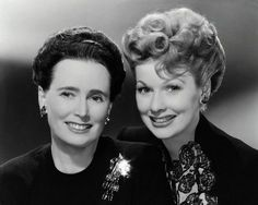 Lucy and her Mother                               *They look like sisters!*