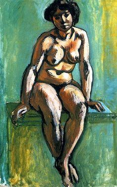 Seated Woman Henri Matisse - 1908