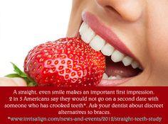 Invisalign - Discreet alternative to braces. http://www.eastwichitadentist.com/invisalign/index.html