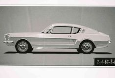 23 Things You Didn't Know About Ford Mustangs 65 Mustang Fastback, Mustang Cars, Ford Mustang History, Roadster, Car Ford, Automotive Design, Sport, Car Photos, Custom Cars