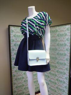 Get a load of the gorgeous Boho Mini Pop Leather Bag.  British made, Pretty colour, £10 off thru March! G.E.N.I.U.S!!