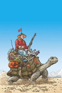 Shaolin Cowboy by Geof Darrow