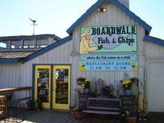 Boardwalk Fish and Chips Restaurant, Homer Spit, Alaska, AK Fresh Halibut fish and chips-- crazy good!