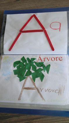 colagem letra a - Atividades para Educação Infantil