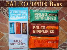Foods of the Moment: Bars and Butters Edition – Healthy Helper - Great Review on the Paleo Simplified bars.