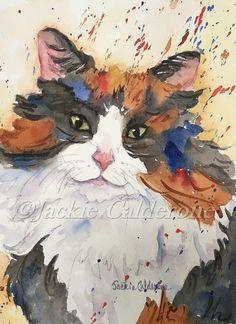Watercolor Paintings Art Print Giclee Print by JackieCalderoneArt