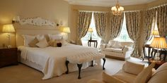 Exclusive Accommodation in Meath at Tankardstown House in the heart of Slane village the perfect place for a romantic break close to Dublin. Romantic Breaks, Roll Top Bath, Ensuite Bathrooms, Luxury Accommodation, Maine House, Bay Window, Luxurious Bedrooms, Master Suite, Contemporary Style