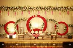 Mesmerize your guests with the charm of these engagement stage decorations ideas. Discover about the latest Engagement Stage Decoration Ideas with this post. Wedding Stage Decorations, Engagement Stage Decoration, Reception Stage Decor, Wedding Backdrop Design, Desi Wedding Decor, Wedding Stage Design, Marriage Decoration, Wedding Reception Backdrop, Backdrop Decorations
