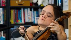 Watch the singer and violinist who stood out from 6,000-plus entries in NPR's Tiny Desk Contest. Gaelynn Lea performs two of these four songs with fellow Duluth, Minn., musician Alan Sparhawk of Low.