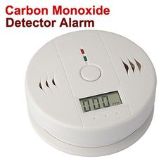 Kitchen Bedroom Carbon Monoxide Warning Detector Alarm