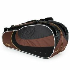 Asics Six Pack Tennis Bag Black/Brown by ASICS. $70.00. es are super comfortable engineered with extra padding for comfortable carryingDimensions 13H x 8W. k Bag is durable yet still very light weight Removable adjustable carrying shoulder straps and hand. 6 uncovered racquets in its two main large compartments This bag also includes convenient inside a. The Asics Six Pack Tennis Bag is a great choice for players of all levels easily accommodating up to. cessory p...