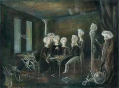'Dear Diary-Never since we left Prague' - Leonora Carrington