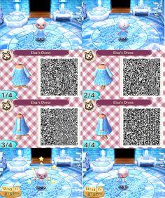 Elsa Dress Qr Code